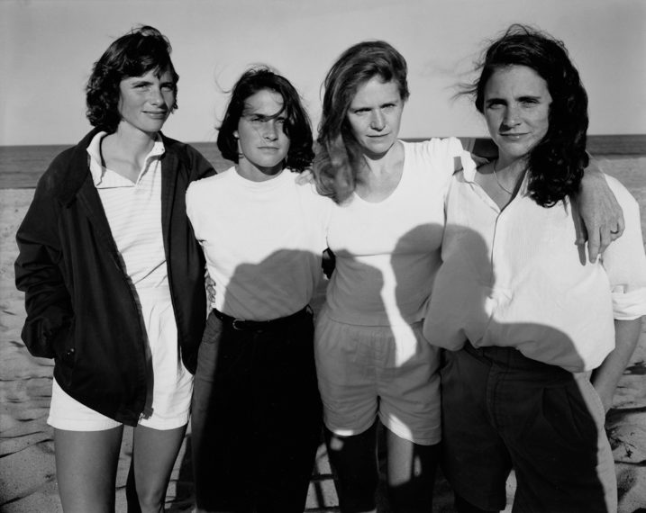 The Brown Sisters, Truro, Massachusetts, 1984, gelatin-silver contact print