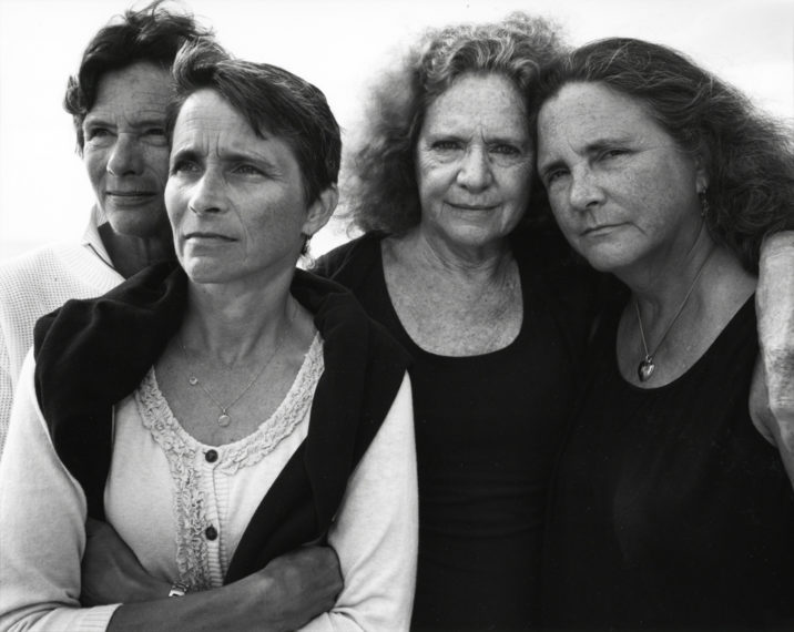 The Brown Sisters, Truro, Massachusetts, 2011, gelatin-silver contact print