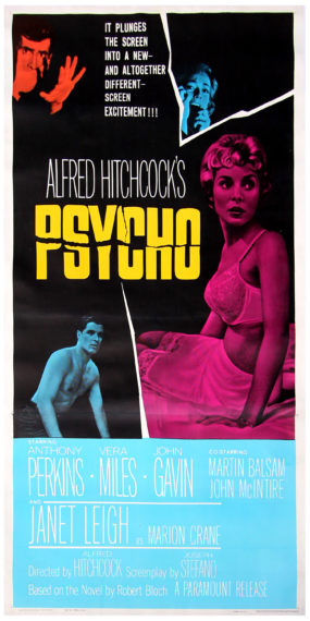 4_Psycho_dir Alfred Hitchcock, Paramount, 1960