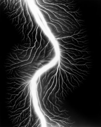 Lightning Fields 225, 2009, gelatin-silver print