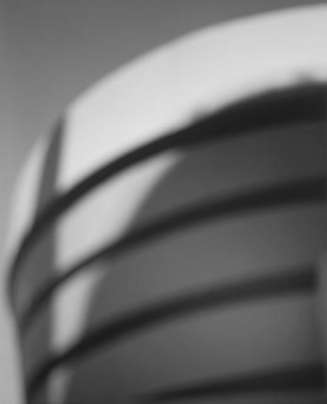 Guggenheim Museum, New York - Frank Lloyd Wright, 1997, gelatin-silver print