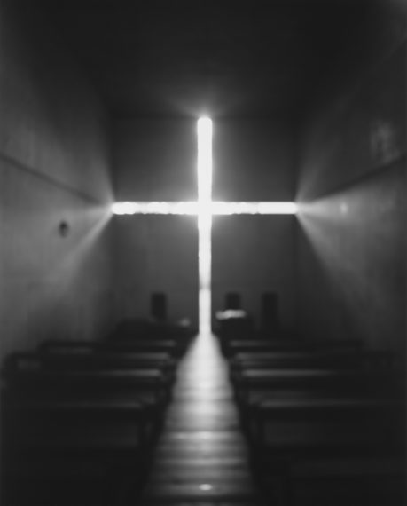 Church of Light - Tadao Ando, 1997, gelatin-silver print