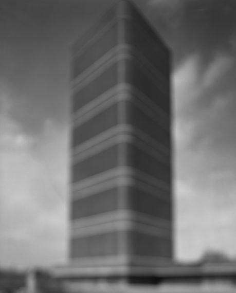 S.C. Johnson Building, 2001, gelatin-silver print