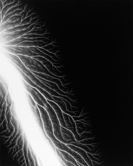 Lightning Fields 222, 2009, gelatin-silver print