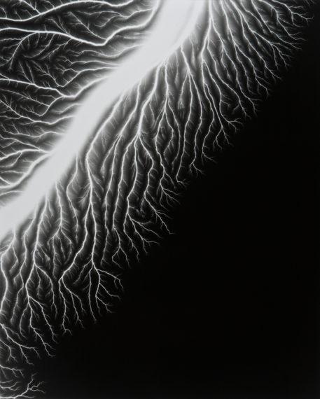 Lightning Fields 128, 2009, gelatin-silver print