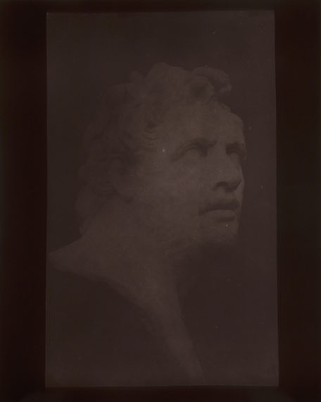 Bust of Patroclus, September 8, 1841, 2009, toned gelatin-silver print