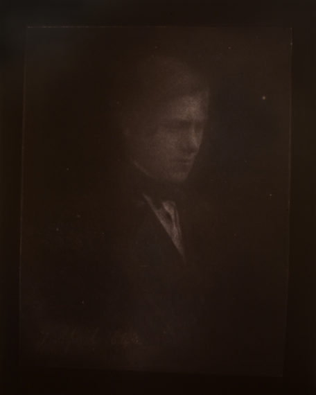 Portrait of Charles Porter, April 7, 1842, 2009, toned gelatin-silver print