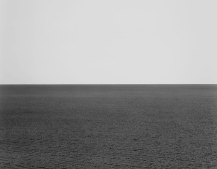 North Pacific Ocean, Ohkurosaki, 2002, gelatin-silver print