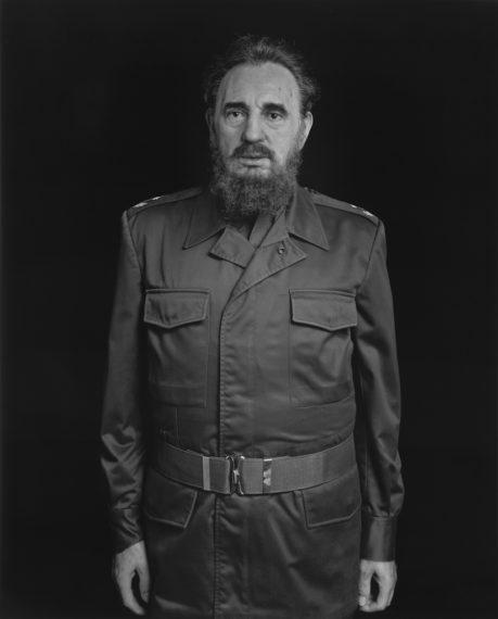 Fidel Castro, 1999, gelatin-silver print