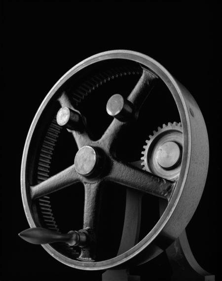 Mechanical Form 0039, 2004, gelatin-silver print
