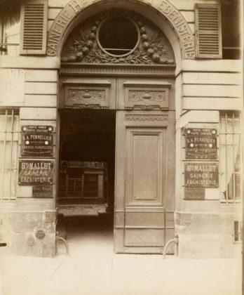 Hôtel 132, [137] rue Vielle du Temple, 1901, albumen silver print