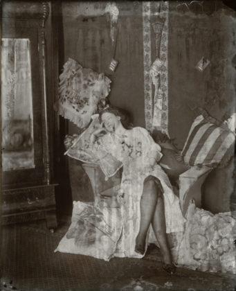 Storyville Portrait, ca. 1912, printing out paper, gold toned