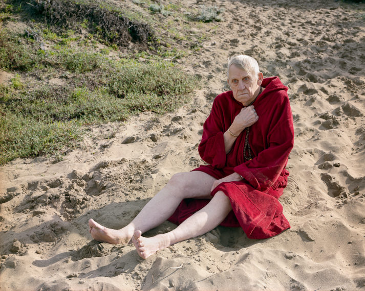 Edward (with Prayer Beads), Baker Beach, 2006, pigment print
