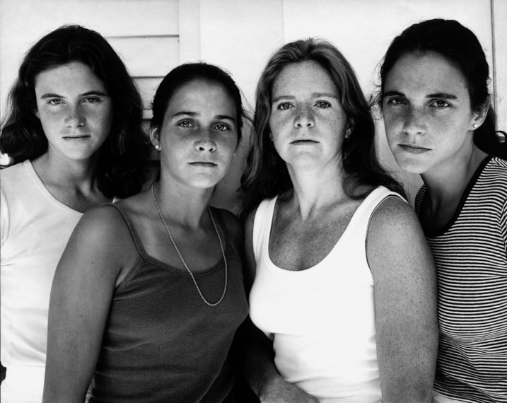 The Brown Sisters, Harwichport, Massachusetts, 1978, gelatin-silver contact print