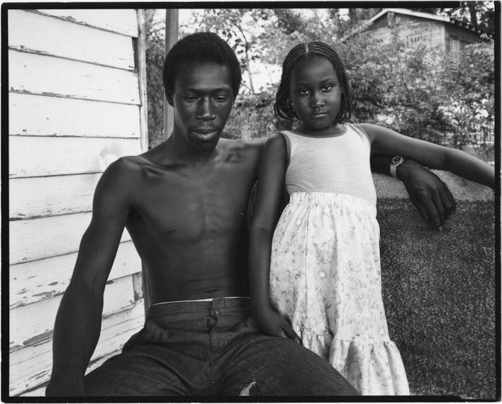 NICHOLAS NIXON, Yazoo City, Mississippi, 1979, gelatin-silver contact print