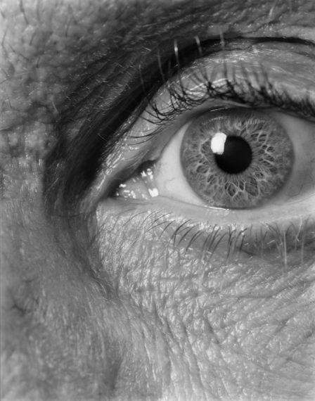 Self (09), Brookline, 2008, gelatin-silver contact print