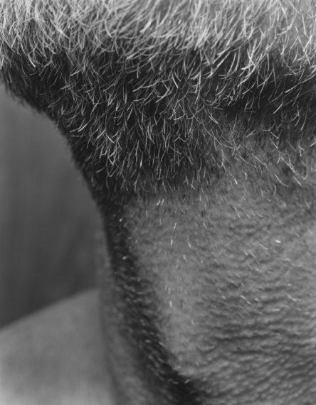 NICHOLAS NIXON, Self (03), Brookline, 2008, gelatin-silver contact print
