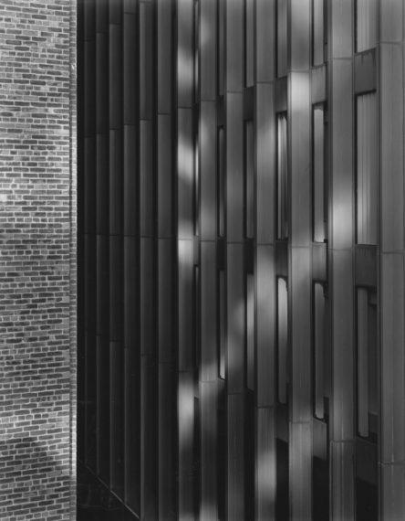 NICHOLAS NIXON, View of the Boston Co. Building, Boston, 2008, gelatin-silver contact print