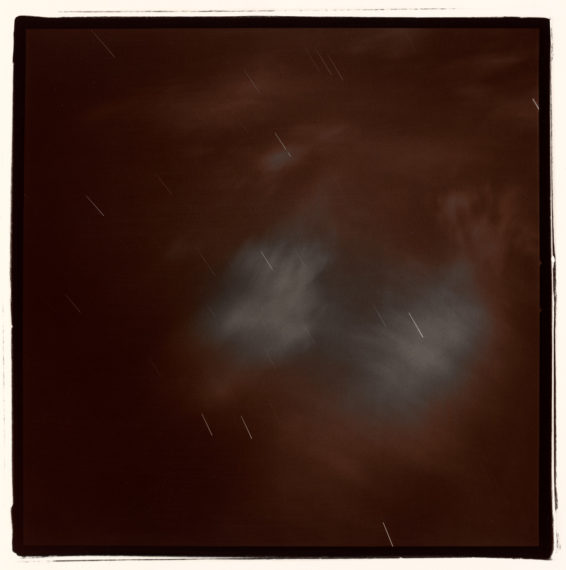 Untitled (Night Clouds), 1977, split-toned selenium gelatin-silver print