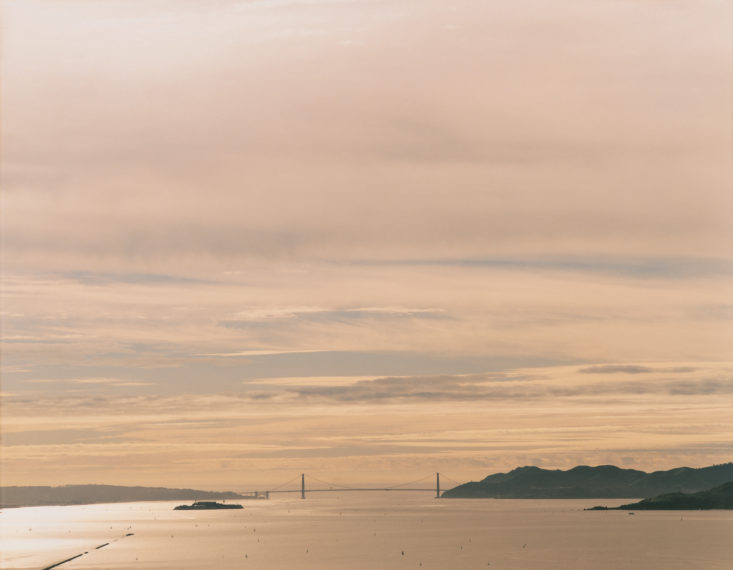 Golden Gate Bridge, 2.27.99, 3:45 pm, 1999, pigment print