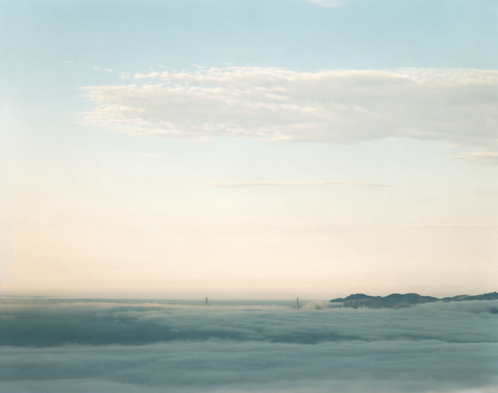 Golden Gate Bridge, 4.17.00, 4:01 pm, 2000, pigment print