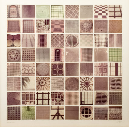 Grids of Grids, 1976, sixty-four chromogenic prints