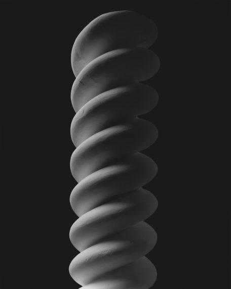 Mathematical Form: Surface 0013, 2004, gelatin-silver print