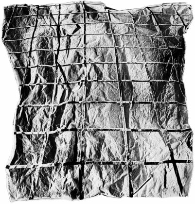 Surface Dis/Tension, 1968 / fabricated 2009, gelatin-silver print on aluminum mount