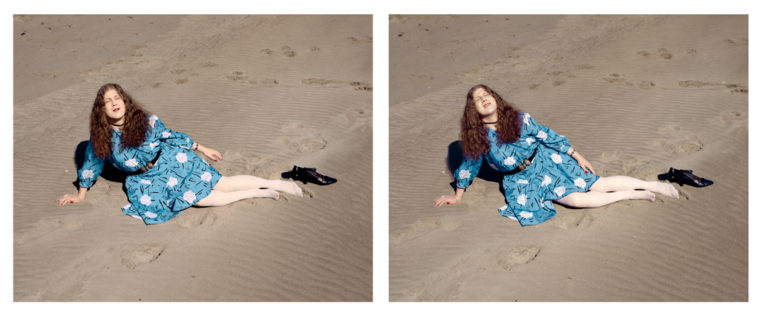 Gail, Ocean Beach (II), 2005, two pigment prints