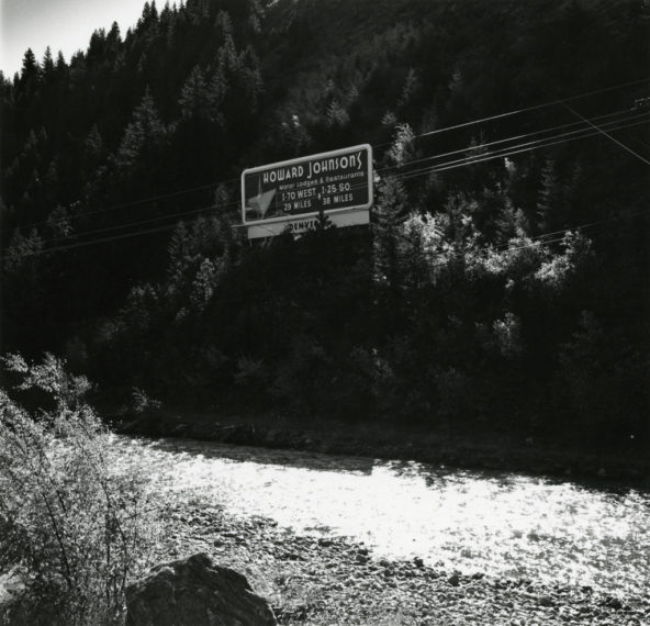 Clear Creek, near Idaho Springs, 1968-72, gelatin-silver print