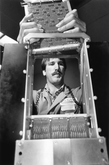 Cray, 1986, gelatin-silver print