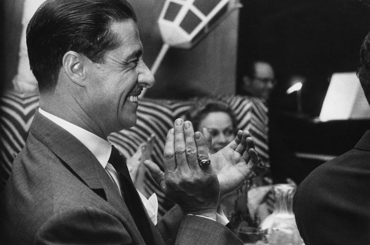 Don Ameche, El Morocco, 1955, gelatin-silver print
