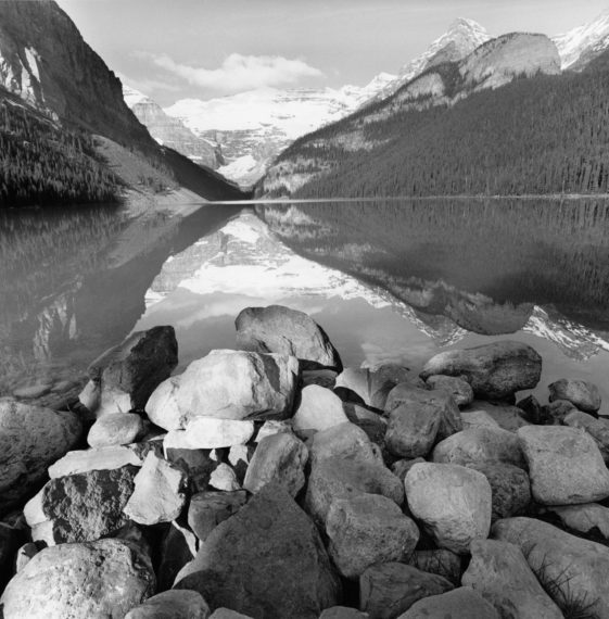 Lake Louise, Alberta, Canada, 2000, gelatin-silver print