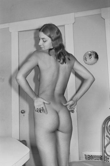 Nude, 1976, gelatin-silver print