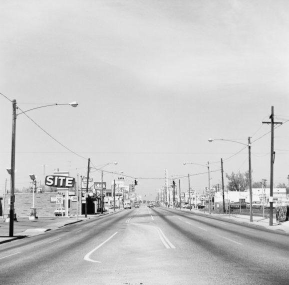 Alameda Avenue, Denver, 1971, gelatin-silver print