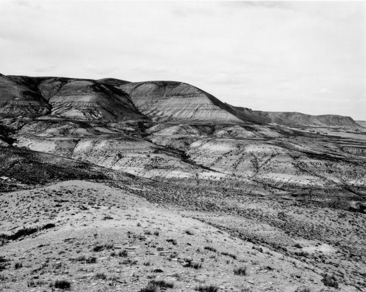 Edge of Green River, Wyoming, 1978, gelatin-silver print