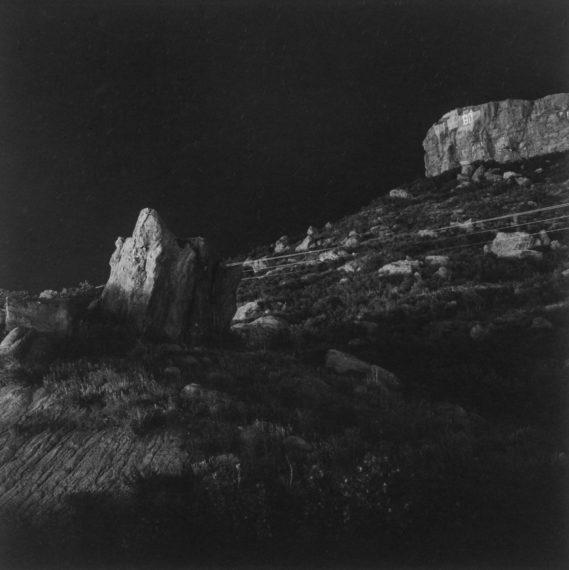 Castle Rock, Colorado, ca. 1980, gelatin-silver print