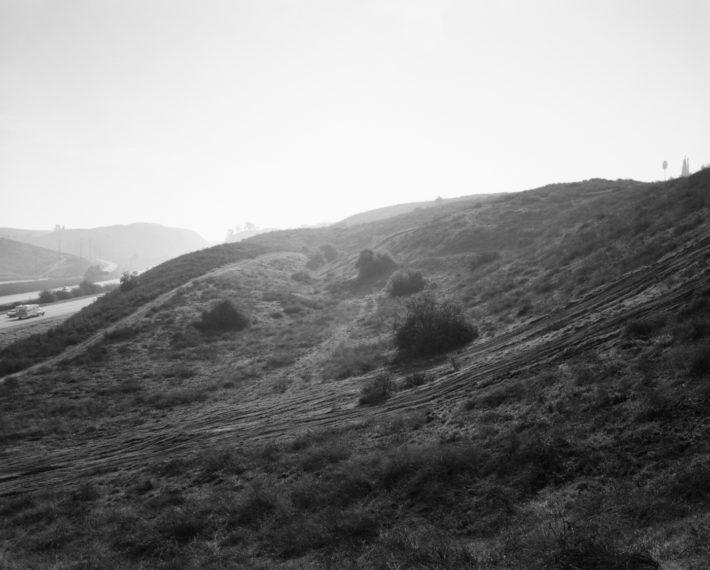 Interstate 10, east edge of Redlands, California , 1982, gelatin-silver print