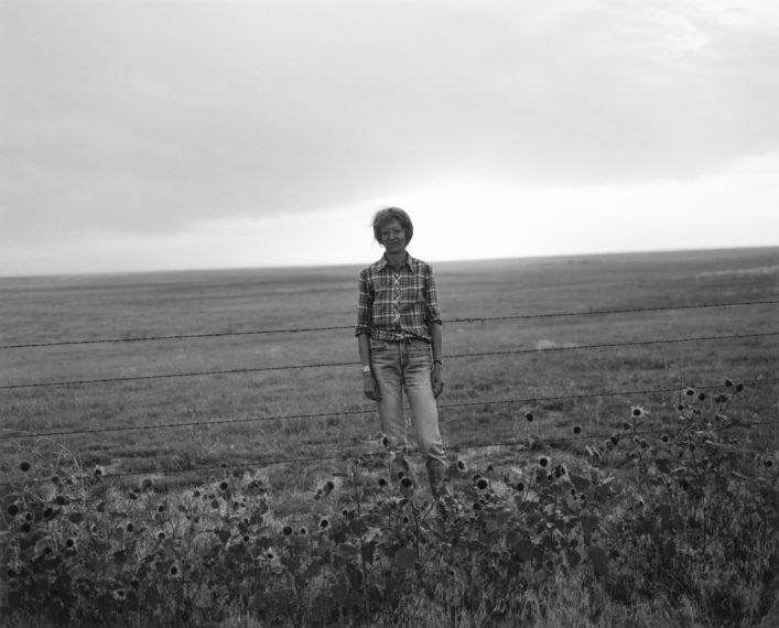 Kerstin. Weld County, Colorado, 1984, gelatin-silver print