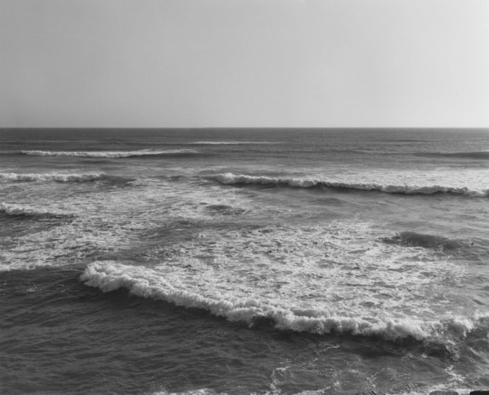 Southwest from the South Jetty, Clatsop County, Oregon, 1992, gelatin-silver print