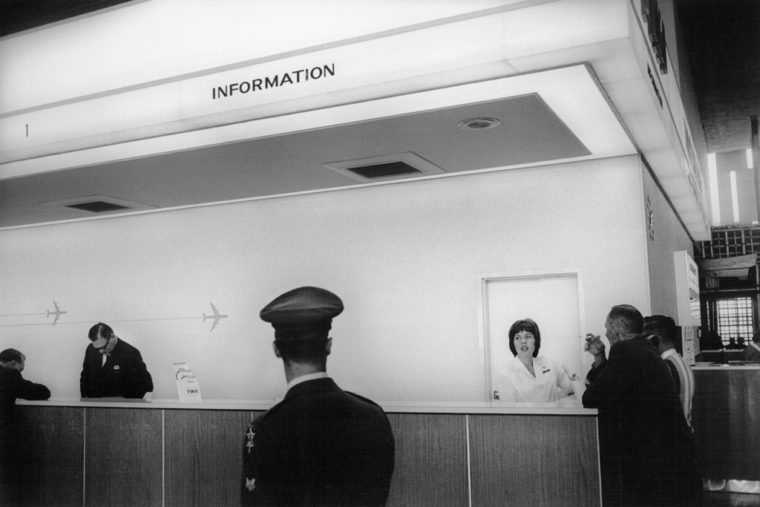 San Francisco International Airport, 1964, gelatin-silver print