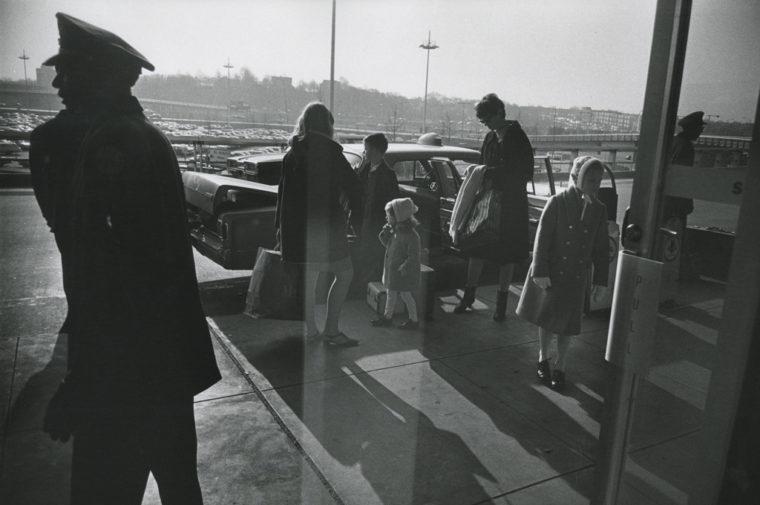 Kennedy Airport, 1968, gelatin-silver print