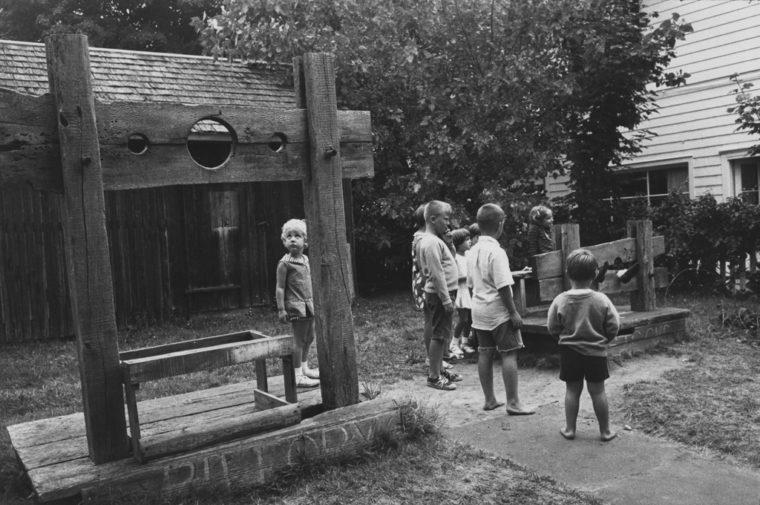 Southampton, Long Island, 1966, gelatin-silver print