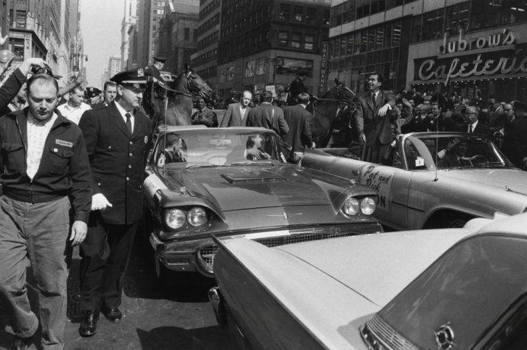 Kennedy-Nixon Presidential Campaign, New York, 1960, gelatin-silver print
