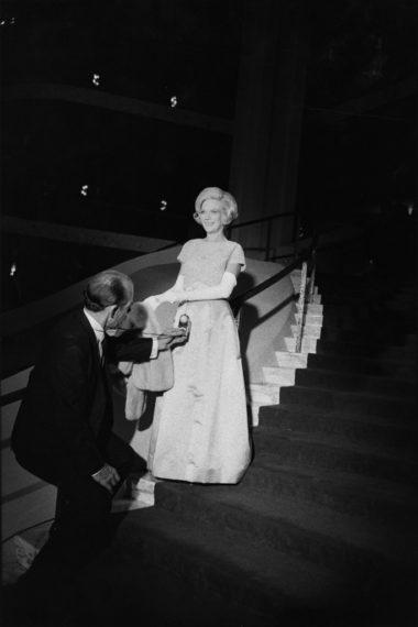 Opening Night, Metropolitan Opera House,  Lincoln Center, New York, 1967, gelatin-silver print