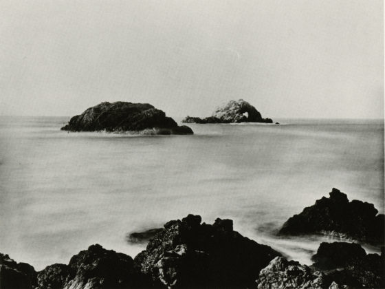 CARLETON E. WATKINS: Seal Rocks, Farallon Islands, c. 1868
