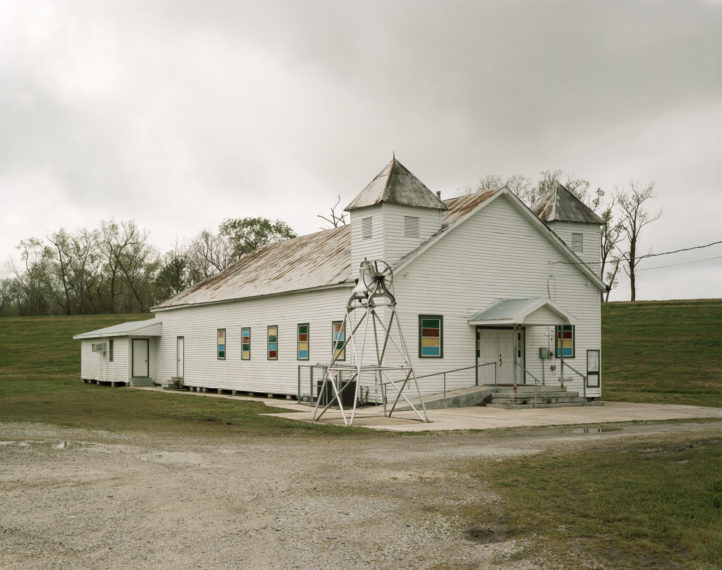 Baptist Church, River Road, St. James, Louisiana, 1998, pigment print