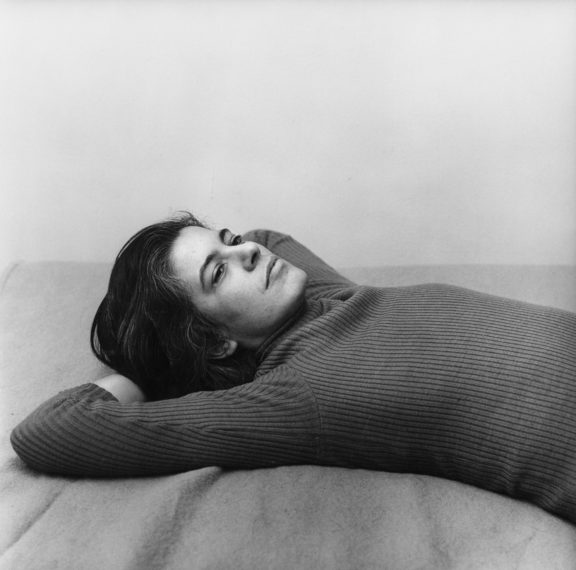 Susan Sontag, 1975 / printed later, pigment print