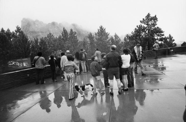 Mt. Rushmore, 1978, gelatin-silver print