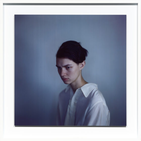 Harmony white shirt, 2011, camera obscura Ilfochrome photograph